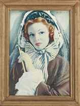 Frills & Stripes (Miss Ann Todd as Medeleine Smith)
