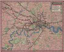 UNDERGROUND MAP OF LONDON