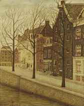 View of the Recht Boomsloot, Amsterdam