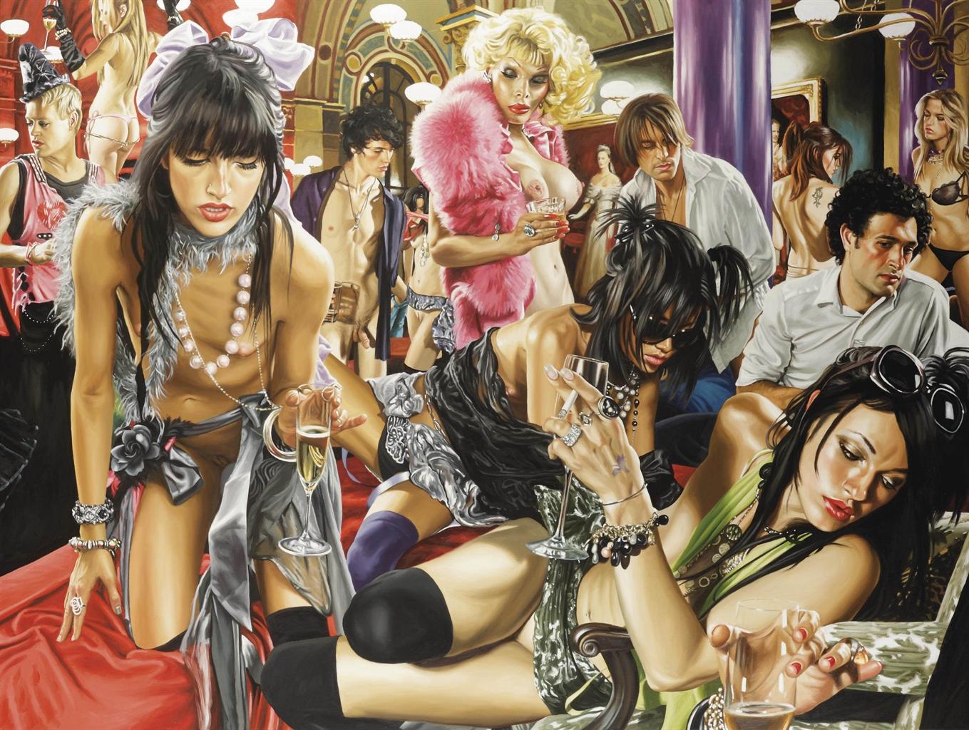 Порно гламурные клубы