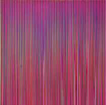 Poured Lines: Light Violet, Green, Blue, Red, Violet