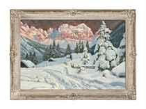 Twilight in the Alps