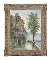 A Parisian quay-side
