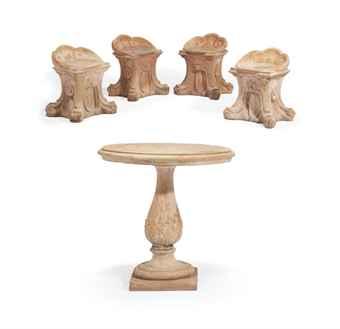 mobilier de jardin xxeme siecle silver auction. Black Bedroom Furniture Sets. Home Design Ideas