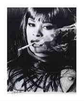 Smoking, circa 1990