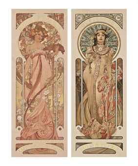 Alphonse Mucha (1860-1939)   MOËT & CHANDON: WHITE STAR & DRY