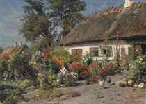 Peder Mork Monsted (Danish, 1859-1941)