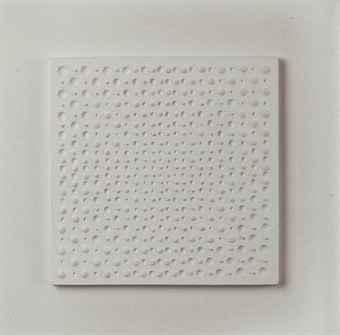 gerhard von graevenitz 1934 1983 weisse struktur zentrische progression iii post war. Black Bedroom Furniture Sets. Home Design Ideas