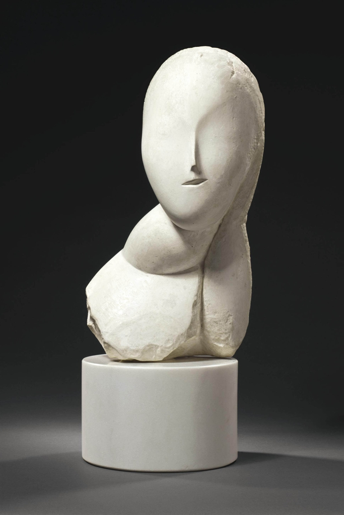 White Stone Sculpture