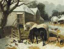 The Old Farmstead, winter-time