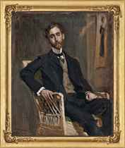 Portrait of the artist's brother, New York