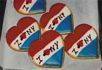 I love New York Cookies, New York, 2001