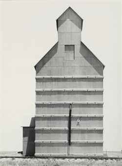 Grain Elevator, Everett, Texas, 1938