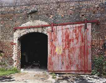 Door of Cotton Warehouse, from 'Ten Southern Photographs portfolio', 1981
