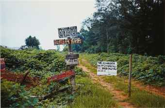 Signs in a Landscape, 1970s
