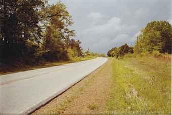 Sans titre (Street, approaching storm), 1980