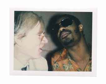 Andy and Stevie Wonder, 1970s