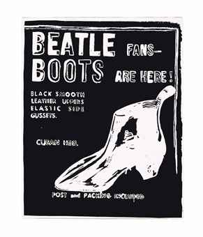 Beatle Boots (Negative)