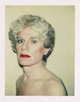 Self-Portrait in Drag, 1980-1982