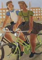 Cycling girls