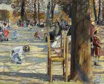 The Luxembourg Gardens in spring