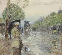Rainy Day, On the Avenue
