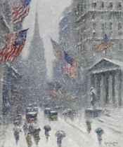 Washington's Birthday- Wall Street Winter