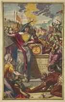 BASNAGE, Jacques (1653-1723) 'T Groot Waerelds Tafereel, Waa