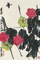 Chrysanthemum and Dragonfly