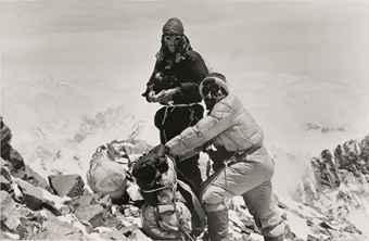 Edmund Hillary & Tenzing Norgay, Mount Everest, 1953