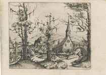 Landscape with a Church (Sch., B. 68; Holl. 41)