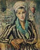 Woman at the Fair