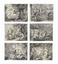 Eighteen illustrations for Ovid's Metamorphoses