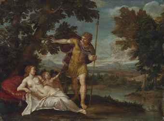 Francesco Albani (Bologna 1578-1660) | Venus and Adonis ...