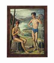 The young bathers