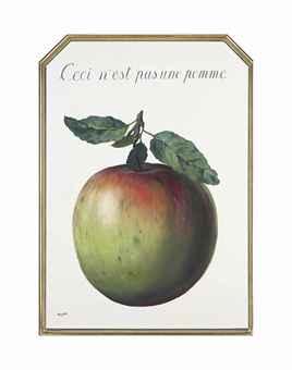 Ceci n'est pas une pomme (This is not an apple)