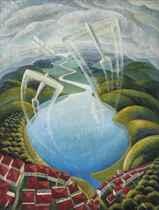 Aerei-lago-nuvole