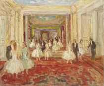 Le foyer de l'Opéra