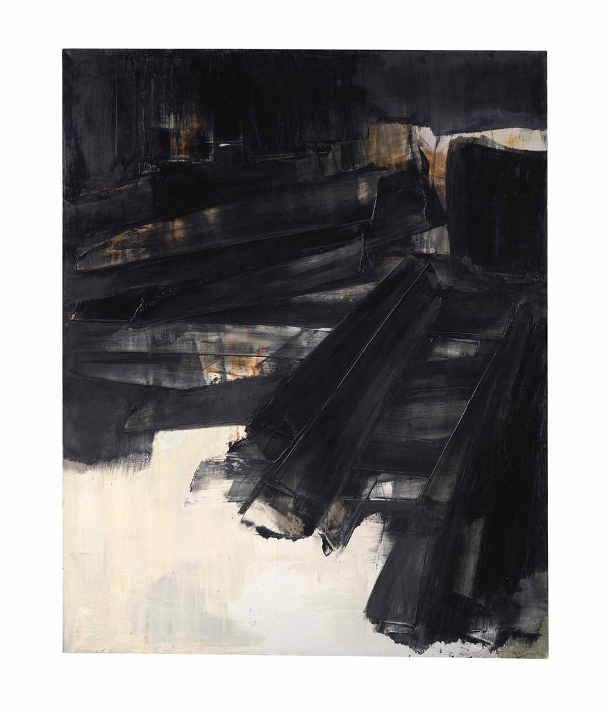 Pierre Soulages (b. 1919) | Peinture 202 x 156 cm, 27 mars 1961 | POST-WAR & CONTEMPORARY ART ...