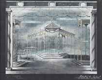 Set design for 'Romeo and Juliet'