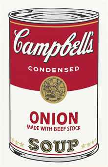 andy warhol Onion made with Beef Stock, from: Campbell's Soup I (F. & S. II.47)