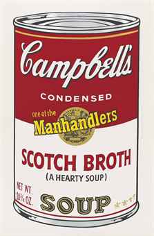 Andy Warhol Scotch Broth, from: Campbell's Soup II (F. & S. II.55)
