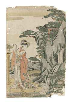 Eishosai Choki (act. c. 1790s-early 1800s) and Toshusai Sharaku (act. 1794-95)