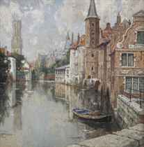 A view of Bruges