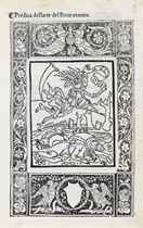 SAVONAROLA, Girolamo (1452-1498)  Predica dell'arte del bene