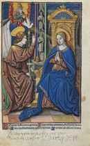 HORAE, Latin, use of Salisbury -- Hore Marie Virginis secund