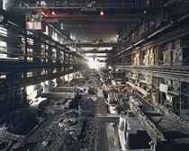 Old factories No. 4, Shenyang Heavy Machinery, Shenyang City, Liaoning Province, China, 2005