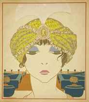 [LEPAPE] -- POIRET, Paul (1879-1944). Les Choses. Vues par Georges Lepape. Paris: Maquet pour Paul Poiret, 15 février 1911.