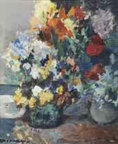 A colourful bouquet