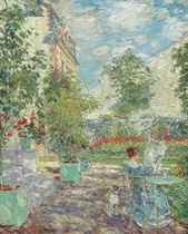 In a French Garden